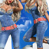 By Alina Mexton Jeansoverall Jeans Jumpsuit Overall Caprijeans Einteiler XS 34