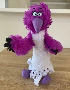 Angry Birds 2 Movie Zeta Plush Soft Toy Purple White Villain Bird Eagle 23cm