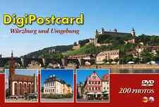 """DigiPostcard """"Würzburg und Umgebung""""- Ansichtskarte mit DVD als Stadtführer"""