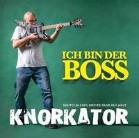 KNORKATOR Ich Bin Der Boss CD Mediabook 2016 Buzz Dee Alf Ator Stumpen * NEU