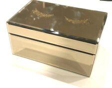 Cynthia Rowley Mirror Jewelry Box Glitter Eyelashes NWT NEW Free Shipping