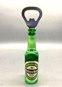 Heineken Bottle Beer Magnet Opener Beer Soda  Keychain Key Ring Bar Tool