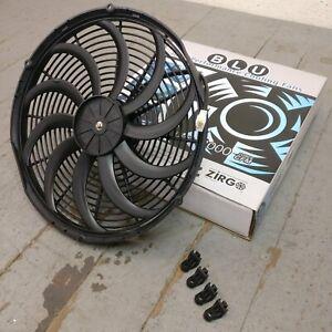 2006 Cadillac XLR 16 Inch Super Duty Radiator Fan heavy duty cooling aeroline