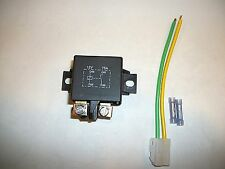 Heavy Duty power relay 75 amp 12 volt with harness connector universal  RK-01073