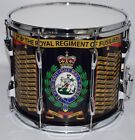 Royal Regiment of Fusiliers Side Drum, Traditional double snare marching drum
