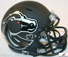 BOISE STATE BRONCOS (MATTE BLACK) Riddell Speed Mini Helmet