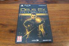 DEUX EX  HUMAN REVOLUTION  - EDITION COLLECTOR AUGMENTEE   ----- pour PS3