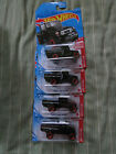 2021 HOT WHEELS TARGET RED EDITION TOYOTA LAND CRUISER  10/12   LOT OF 4