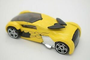 Hot Wheels 04 Release Yellow Phantom Racer  Loose