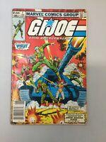 GI JOE 1 Newsstand Marvel Comics 1982 GD Low Grade Read Description
