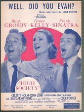 Well Did You Evah 1956 High Society Bing Crosby Grace Kelly Frank Sinatra