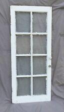 Vintage Antique Casement Cabinet Window Sash Shabby Florentine Chic Vtg 941-16