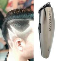 Mens Pro Electric Hair Shaver Clipper Cordless Detail Trimmer Remover Groomer