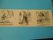 Caricature 1881 - Vignettes Botte Italie Signor Maccie Uniforme consul Italien