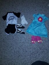 2 Doll Outfits that fit 18inch American Girl Lot