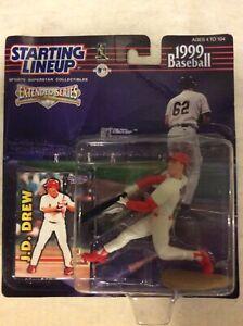 J.D. DREW - St Louis Cardinals Starting Lineup SLU 1999 Action Figure Sealed