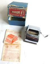 MACHINE A AFFUTER LES LAMES DE RASOIR REPASSEUR SCIENTIFIQUE RADIUM OLD SHAVER