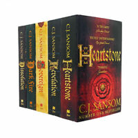 The Shardlake Series Collection 5 Book Set By C.J. Sansom,Dark Fire,Dissolution