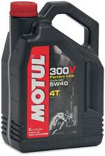 Motul MOTORCYCLE 101343 / 104115 300V Synthetic Motor Oil 4 Liter - 5W40 104115