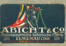 Spezial-Musterbuch 1916 Patriotische Figuren aus Terrakotta Abicht Reprint!