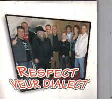 Respect Veur Dialect -Cd single incl Video clip