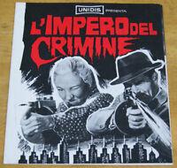 brochure film GUNS DON'T ARGUE - L'IMPERO DEL CRIMINE Myron Healey Jean Harvey