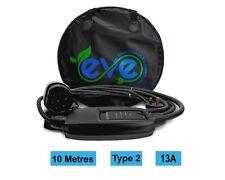 EV Charging Cable, Range Rover P400E PHEV, TYPE 2, UK 3 pin plug 10m charger
