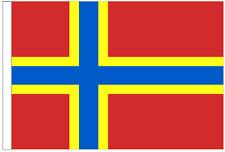 Scotland Orkney Arcaibh Sleeved Courtesy Flag ideal for Boats 45cm x 30cm