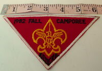 Boy Scouts Camp Kedeka BSA Fall Camporee Patch 1982  Sugar Grove Illinois