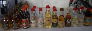 COLLEZIONISMO-MIGNON-LIQUORE ALCOLICI- stock bottigliette n.31 -tappo plastica