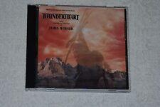 Thunderheart by James Horner  Original Soundtrack (CD, Intrada)