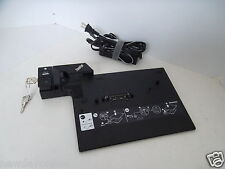 IBM Lenovo ThinkPad Docking Station Type 2504 DVI VGA USB RJ-45 90W 20V 42W8298