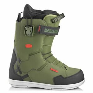 Deeluxe Team ID Snowboard Boots Army 2020 Mens Size 9.5 11.5