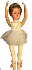 "18"" VTG Valentine Ballerina Doll VW Vinyl Capezio Ballet Shoes En Pointe Pose"