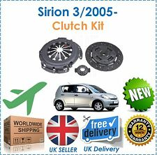 For Daihatsu Sirion 1.0 DVT 1KRFE 3/2005-  3 Piece Clutch Kit Complete New