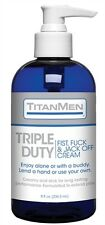 TITANMEN TRIPLE DUTY FIST AND JACK OFF CREAM Great for both partner and solo