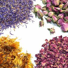Various Dried Flowers and Petals - 27+ Types! - Rose, Jasmine, Cornflower, Peony