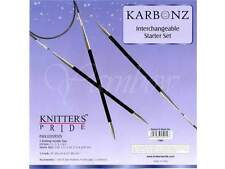 Knitter's Pride ::Karbonz Starter Interchangeable Needle Set:: Sizes 2.5 -6 US