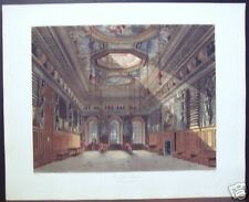"""W. H. Pyne: """"King's Guard Chamber, Windsor Castle"""""""