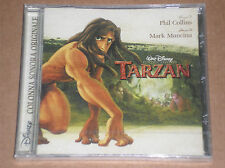 WALT DISNEY'S TARZAN IN ITALIANO:SOUNDTRACK (PHIL COLLINS)-CD SIGILLATO (SEALED)