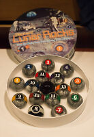 New In Box  Elephant Lunar Rocks™ Pool Ball Set 6 oz Billiard Table Balls