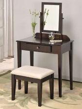Brand New 50.5''H Contemporary Vanity Set With Adjustable Mirror -ESPRESSO- ASDI