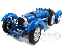 1934 BUGATTI TYPE 59 BLUE 1:18 DIECAST CAR MODEL BY BBURAGO 12062
