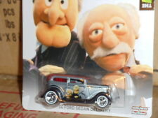 Hotwheels  THE MUPPETS  Statler & Waldorf  34' Ford Sedan Delivery