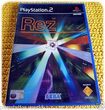 Rez videogioco Sega PS2 <=