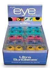 Tanning Bed Eyewear Goggles Ultra Sun Globes  30 Pair with Free Display