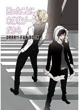 """Durarara!! YAOI Doujinshi """" Komattakoto ni Mitaiken Zone Dakara """" Shizuo Izaya"""