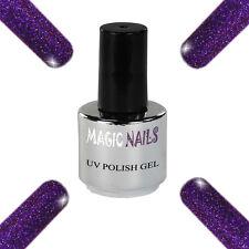 UV Polish Soak Off Gel Nail Art Nagellack Farbe # Purple Passion