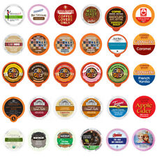 Coffee, Tea, Cider, Cappuccino and Hot Chocolate Sampler For Keurig K Cup 30ct