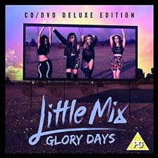Glory Days Little Mix Deluxe Album With DVD CD 0889853678228
